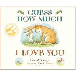 Детская книга Sam McBratney Guess How Much I Love You