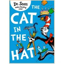 Детская книга The Cat in the Hat (Dr. Seuss, Доктор Сьюз, Кот в Шляпе)