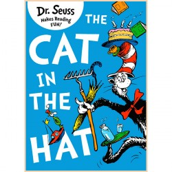 Детская книга The Cat in the Hat (Dr. Seuss, Доктор Сьюз, Кот в Шляпе)