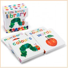 Детская книга The Very Hungry Caterpillar Little Learning Library