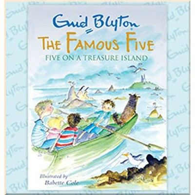 Детская книга Enid Blyton The Famous Five on a Treasure Island Colour Gift Edition (Великолепная Пятерка)