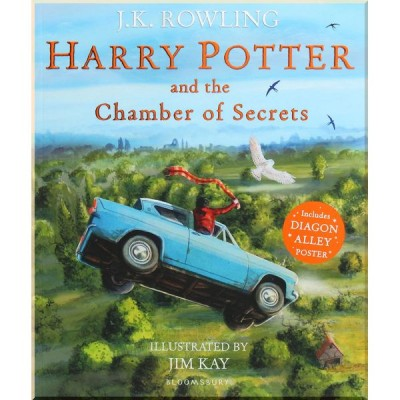 Детская книга Harry Potter and the Chamber of Secrets: Illustrated Edition (Гарри Поттер, Джоан Роулинг)