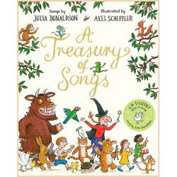 Детская книга Джулия Дональдсон: A Treasury of Songs with CD