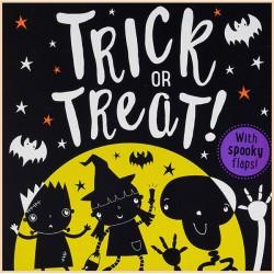 Детская книга Trick or Treat: Lift-The-Flap (с окошками)