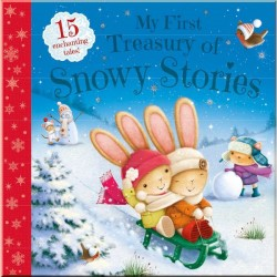 Детская книга My First Treasury of Snowy Stories: 15 Enchanting Tales
