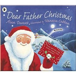 Детская книга Dear Father Christmas (с окошками)