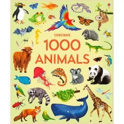 Детская книга Usborne 1000 Animals в картинках