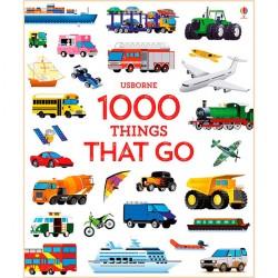 Детская книга Usborne 1000 Things That Go
