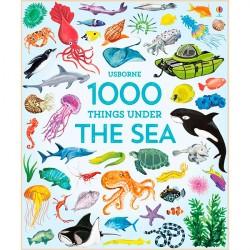 Детская книга Usborne 1000 Things Under the Sea в картинках