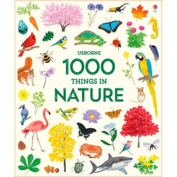 Детская книга Usborne 1000 Things in Nature в картинках
