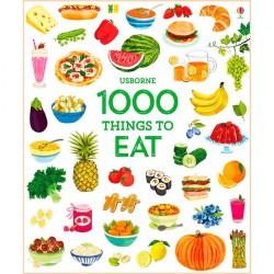 Детская книга Usborne 1000 Things to Eat