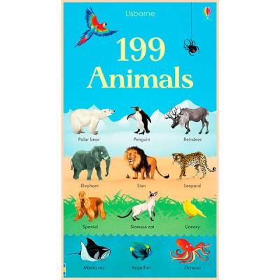 Детская книга Usborne 199 Animals