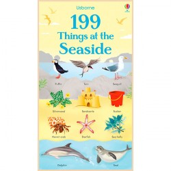 Детская книга Usborne 199 Things at the Seaside
