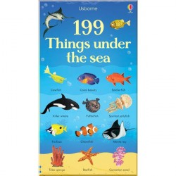 Детская книга Usborne 199 Things under the Sea