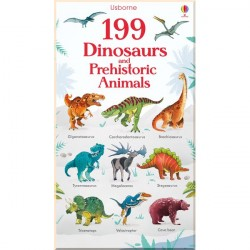 Детская книга Usborne 199 Dinosaurs and Prehistoric Animals