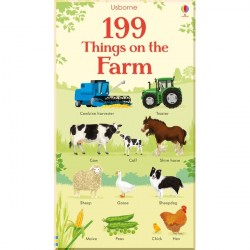 Детская книга Usborne 199 Things on the Farm