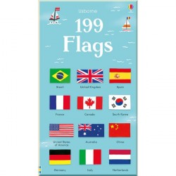 Детская книга Usborne 199 Flags