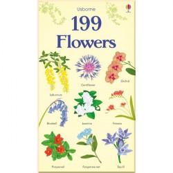Детская книга Usborne 199 Flowers