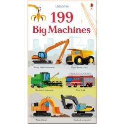 Детская книга Usborne 199 Big Machines