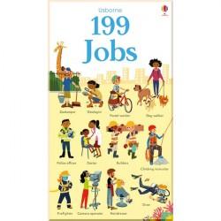 Детская книга Usborne 199 Jobs