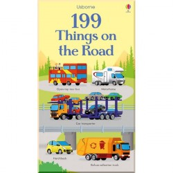 Детская книга Usborne 199 Things on the Road