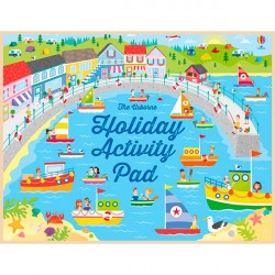 Детская книга Usborne Holiday Activity Pad