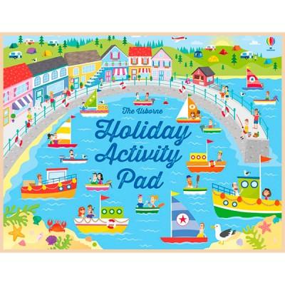 Детская книга Usborne Holiday Activity Pad