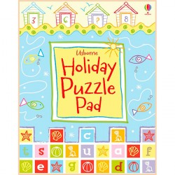 Детская книга Usborne Holiday Puzzle Pad