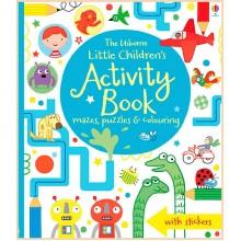 Детская книга со стикерами Usborne Little Children's Activity Book