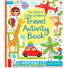 Usborne Little Children's Travel Activity Book