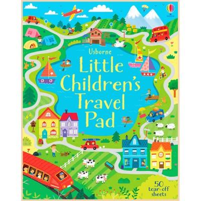 Детская книга Usborne Little Children's Travel Pad