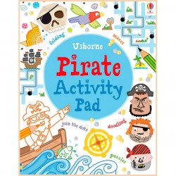 Детская книга Usborne Pirate Activity Pad