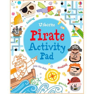 Детская книга Usborne Pirate Activity Pad