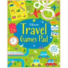 Детская книга Usborne Travel Games Pad