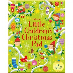 Детская книга Usborne Little Children's Christmas Pad