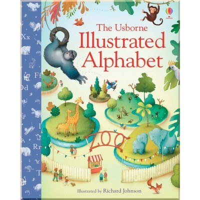 Детский алфавит The Usborne Illustrated Alphabet