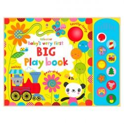 Детская книга с тактильными ощущениями, со звуковыми эффектами Baby's Very First Big Play Book