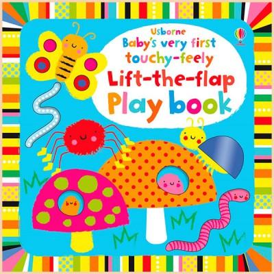 Детская книга с тактильными ощущениями Baby's Very First Touchy-Feely Lift-the-Flap Play Book