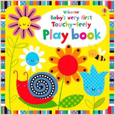 Детская книга с тактильными ощущениями Baby's Very First Touchy-Feely Play Book
