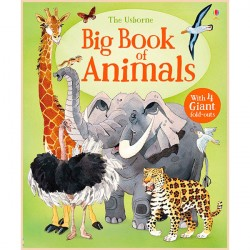 Детская книга Usborne Big Book of Animals