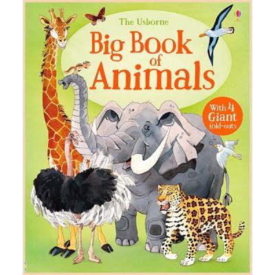 Детская книга Usborne Big Book of Animals
