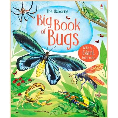 Детская книга Usborne Big Book of Bugs