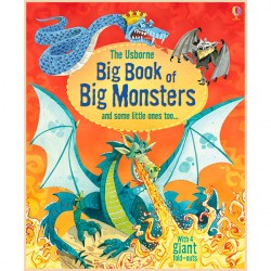 Детская книга Usborne Big Book of Big Monsters