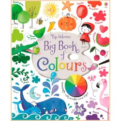 Детская книга Usborne Big Book of Colours