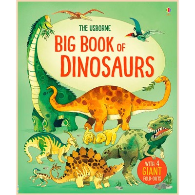 Детская книга Usborne Big Book of Dinosaurs