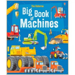 Детская книга Usborne Big Book of Machines