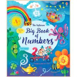 Детская книга Usborne Big Book of Numbers