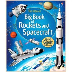 Детская книга Usborne Big Book of Rockets and Spacecraft (Ракеты и Космические корабли)