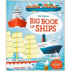 Детская книга Usborne Big Book of Ships (Морской транспорт)