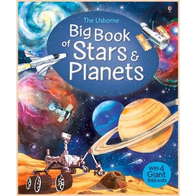 Детская книга Usborne Big Book of Stars and Planets (Звезды и Планеты)